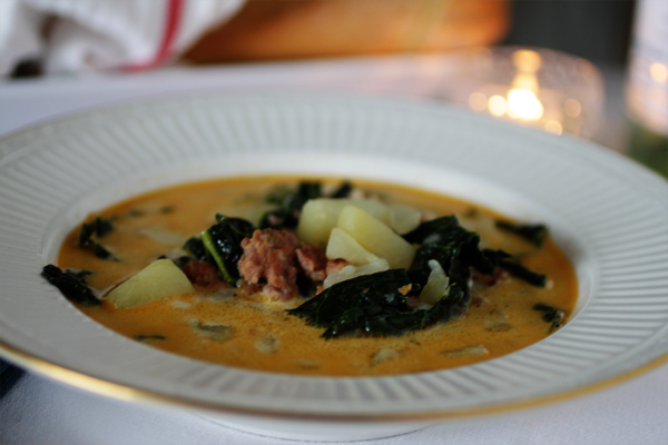 Post image for ZUPPA TOSCANO AND CLOSING IN ON 60 . . .